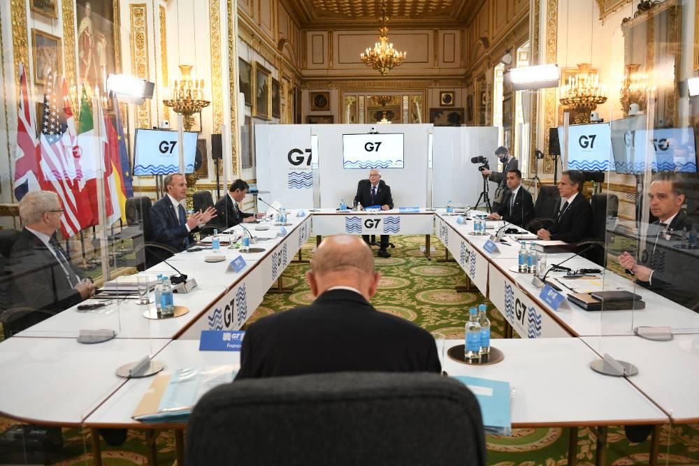Япония на встрече G7 предложила выработать совместный подход к России