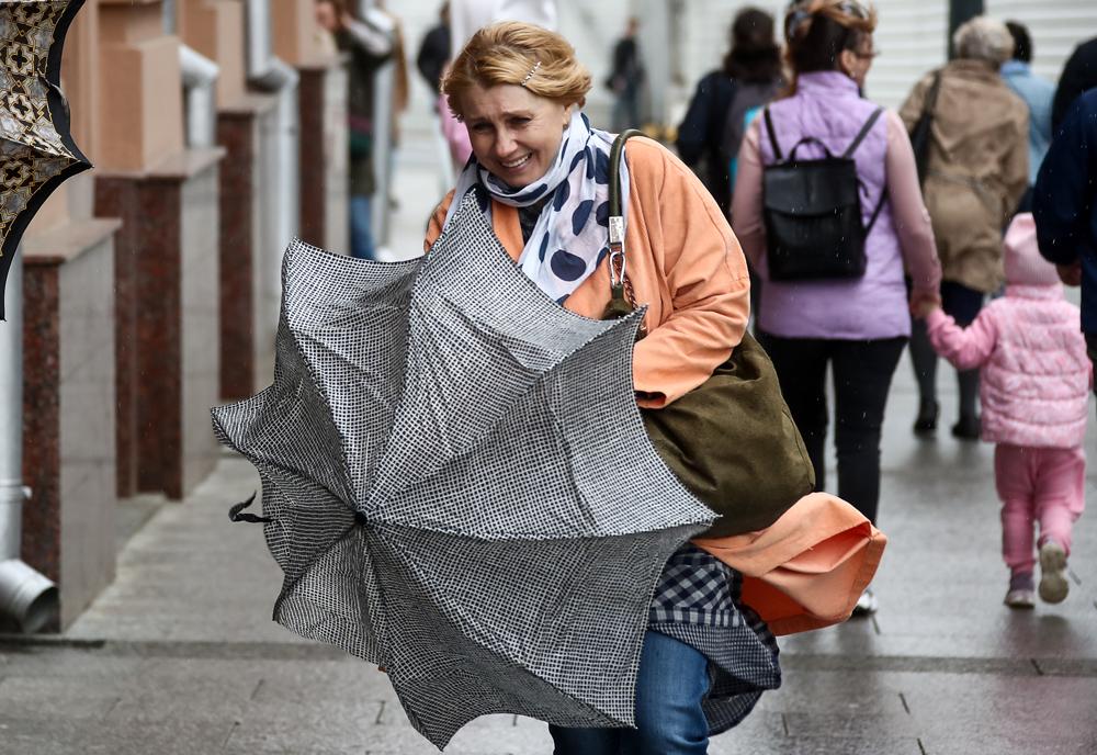 Власти Москвы предупредили горожан об ураганном ветре и призвали оставаться дома