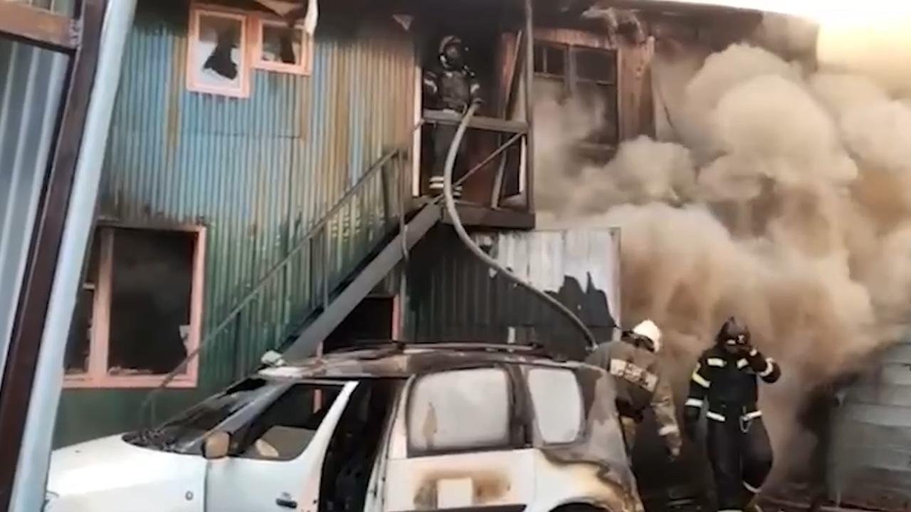 Тело ещё одного погибшего нашли после пожара в сварочном цеху в Мытищах