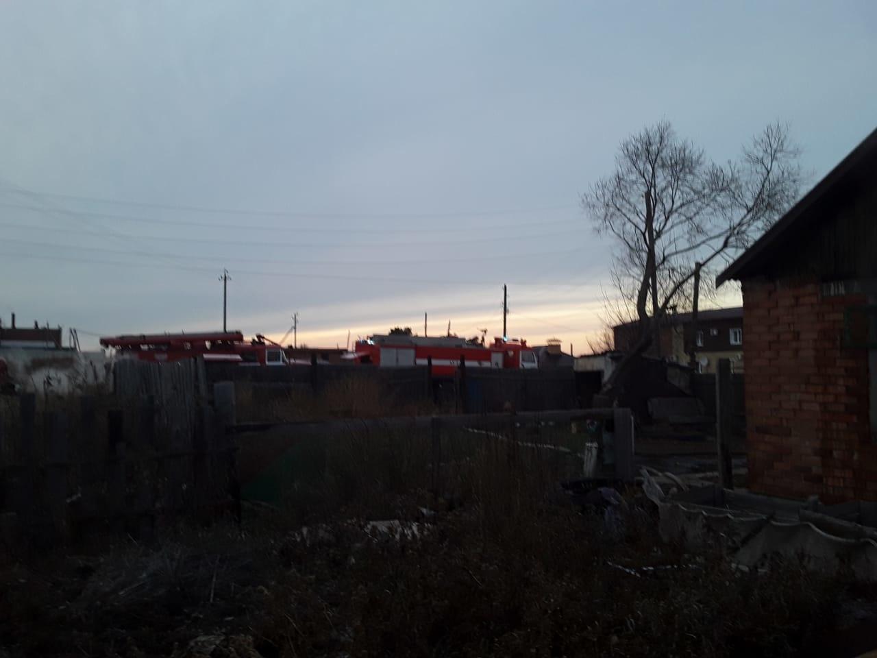 В Омской области потушили пожар, уничтоживший половину деревни