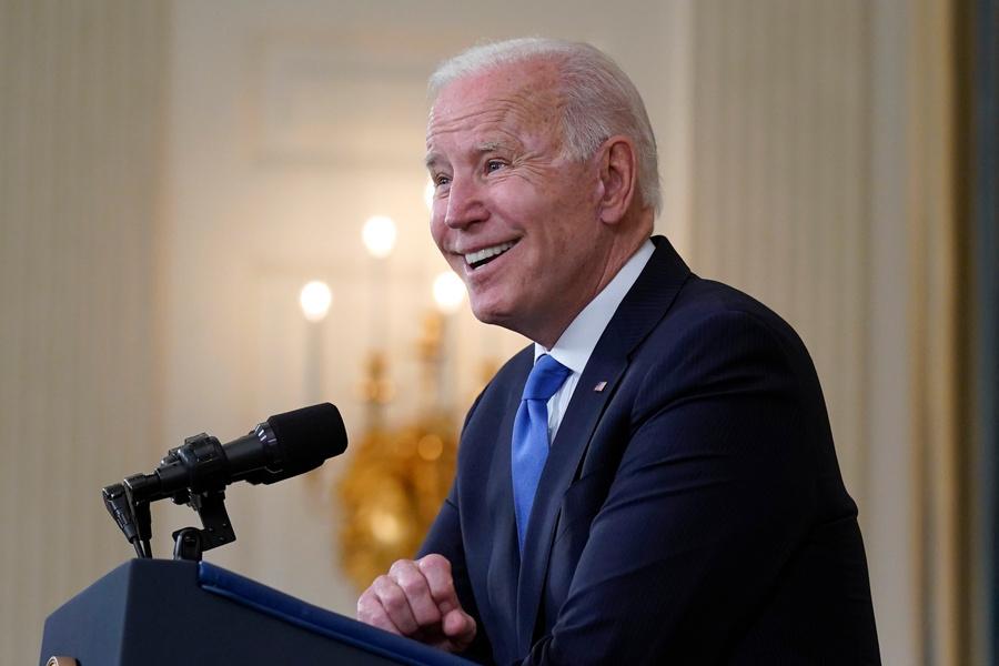 <p>Президент США Джо Байден. Фото © ТАСС / Evan Vucci / АР</p>