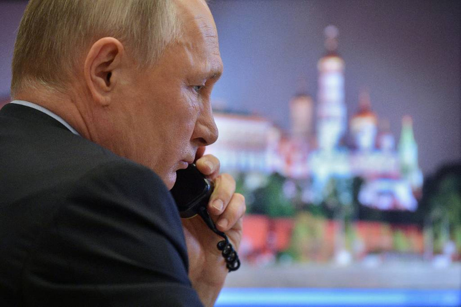 <p>Президент России Владимир Путин. Фото © ТАСС / Дружинин Алексей</p>