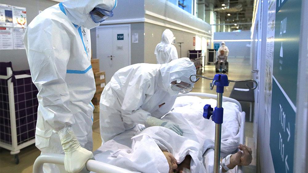 В России за сутки выявили 8329 новых случаев коронавируса