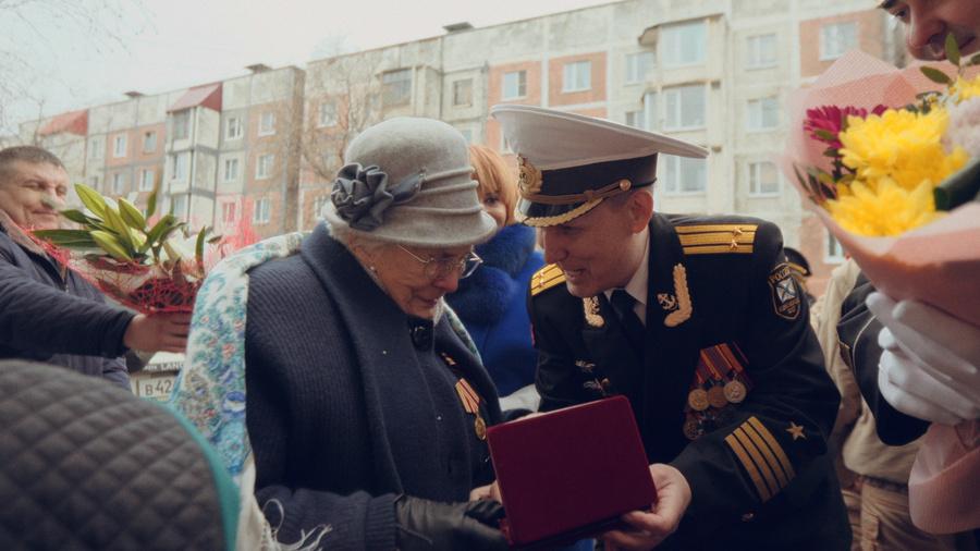 Ветеран Великой Отечественной войны Сальма Шарупич. Фото © Официальный сайт Камчатского края