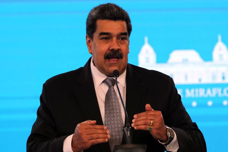 <p>Николас Мадуро. Фото © ТАСС / EPA / Miguel Gutierrez</p>