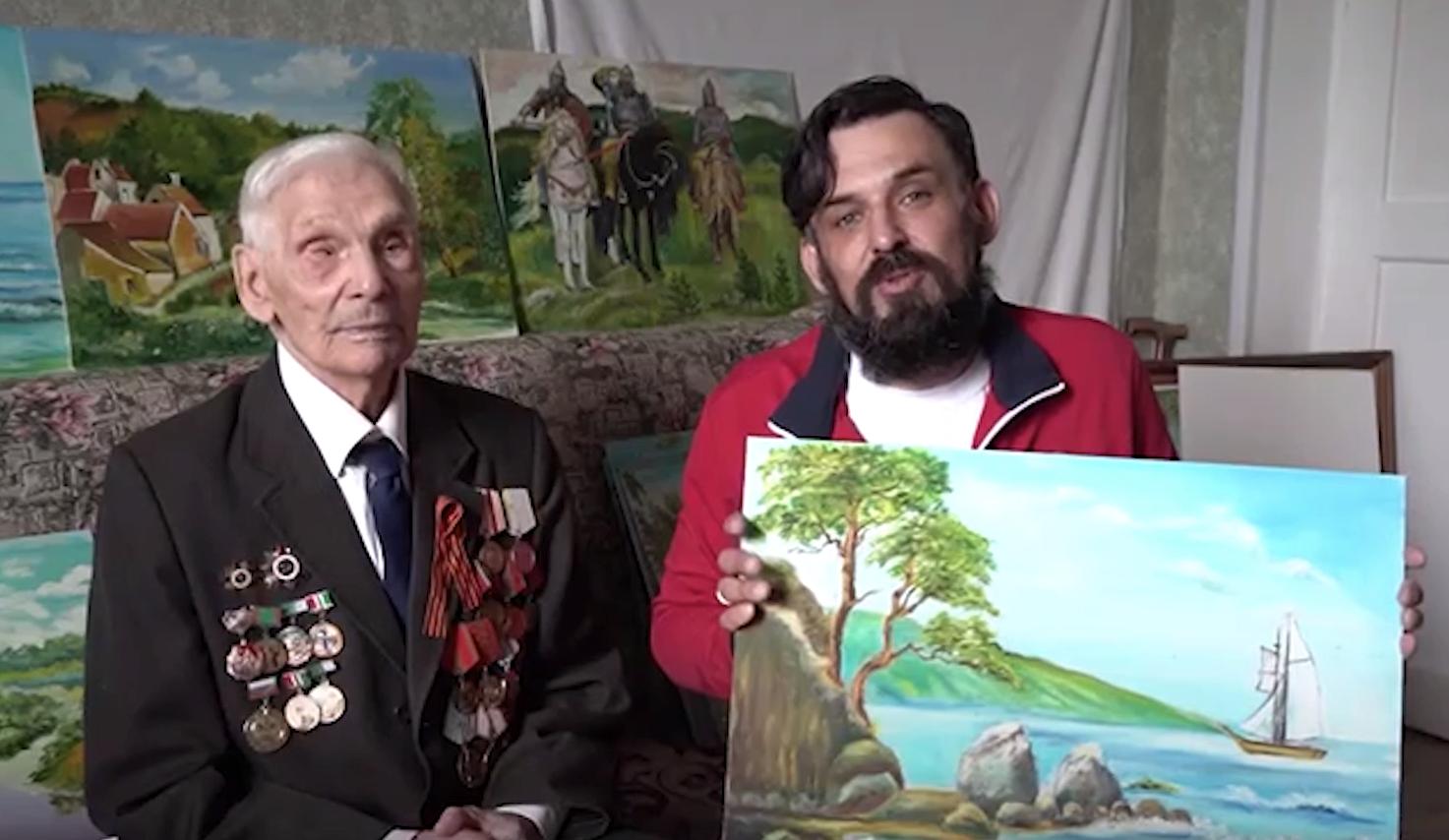 """Скриншот видео проекта """"Мечты победителей"""""""