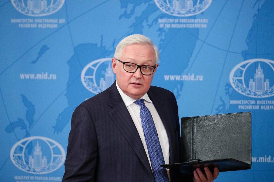 <p>Сергей Рябков. Фото © ТАСС / Пресс-служба Министерства иностранных дел РФ</p>