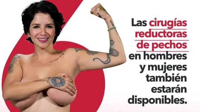 Эротическая модель метит в депутаты, пообещав девушкам бесплатное увеличение груди в случае победы