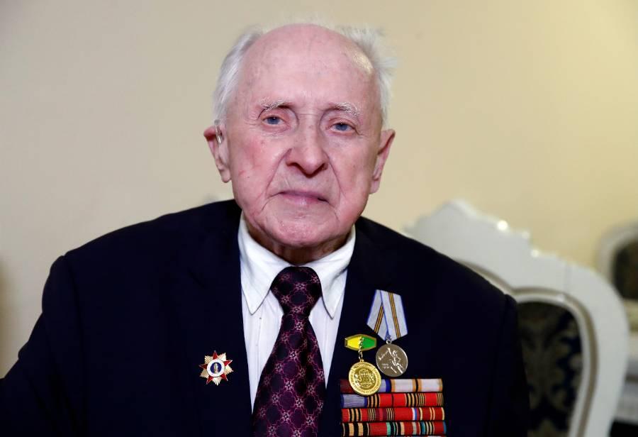 <p>Ветеран Великой Отечественной войны Василий Пронин. Фото © ТАСС / Артем Геодакян</p>