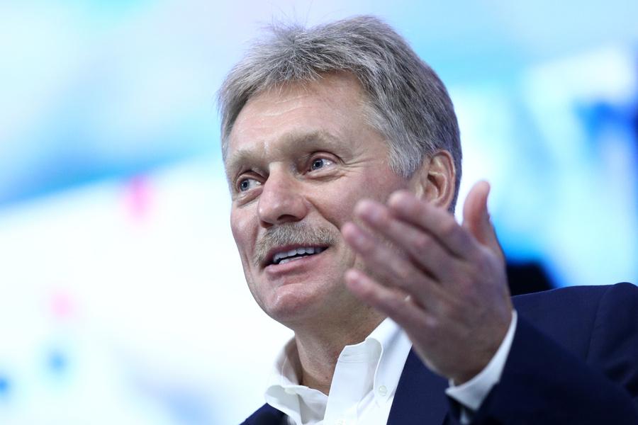 <p>Дмитрий Песков. Фото © ТАСС / Сергей Бобылев</p>