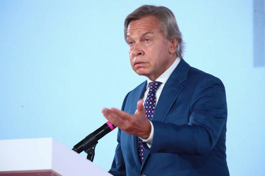<p>Сенатор Алексей Пушков. Фото © ТАСС / Карпухин Сергей</p>