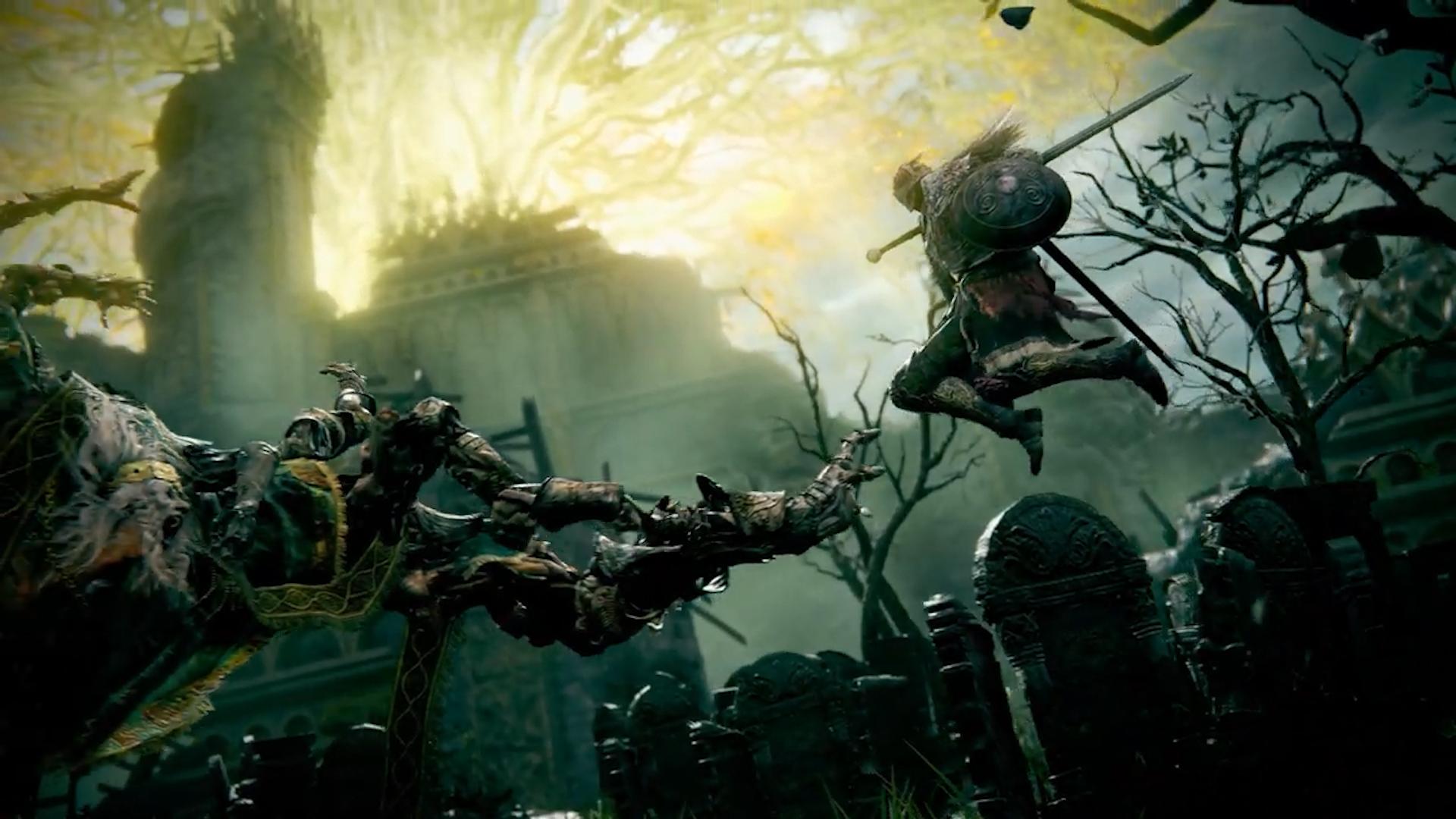 Огнедышащие драконы и страшные монстры: Появился первый геймплейный трейлер, и озвучена дата выхода игры Elden Ring