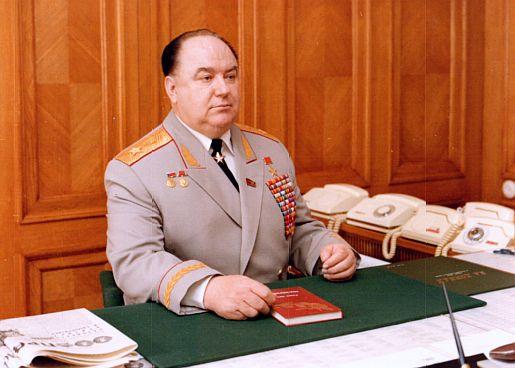 С.К. Цвигун в своём служебном кабинете в Москве. 1970-е гг. Фото © generaltsvigun.ru