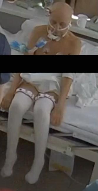 """Тамара Гулиа после """"лечения"""" в клинике """"Медицина 24/7"""". Фото © """"Медицина24/7"""""""
