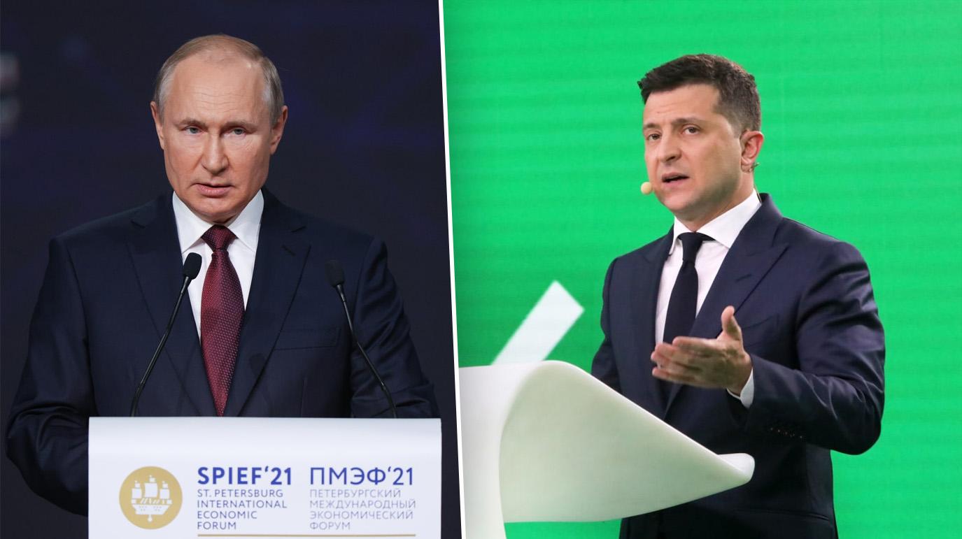 На Украине рассказали о ходе организации встречи Путина и Зеленского