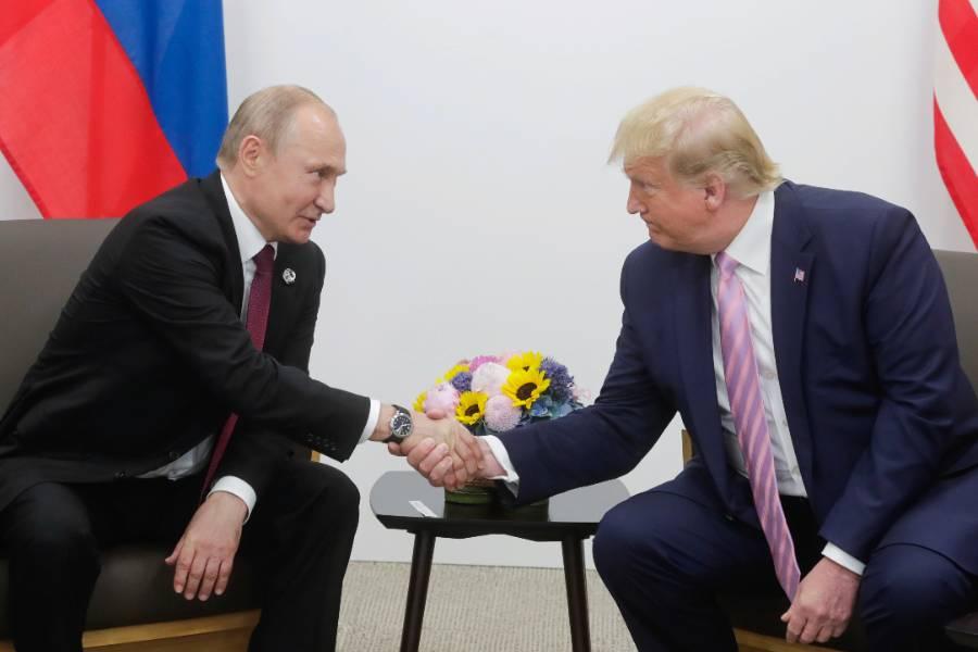 Он может нравиться вам или нет: Путин назвал Трампа ярким и талантливым человеком