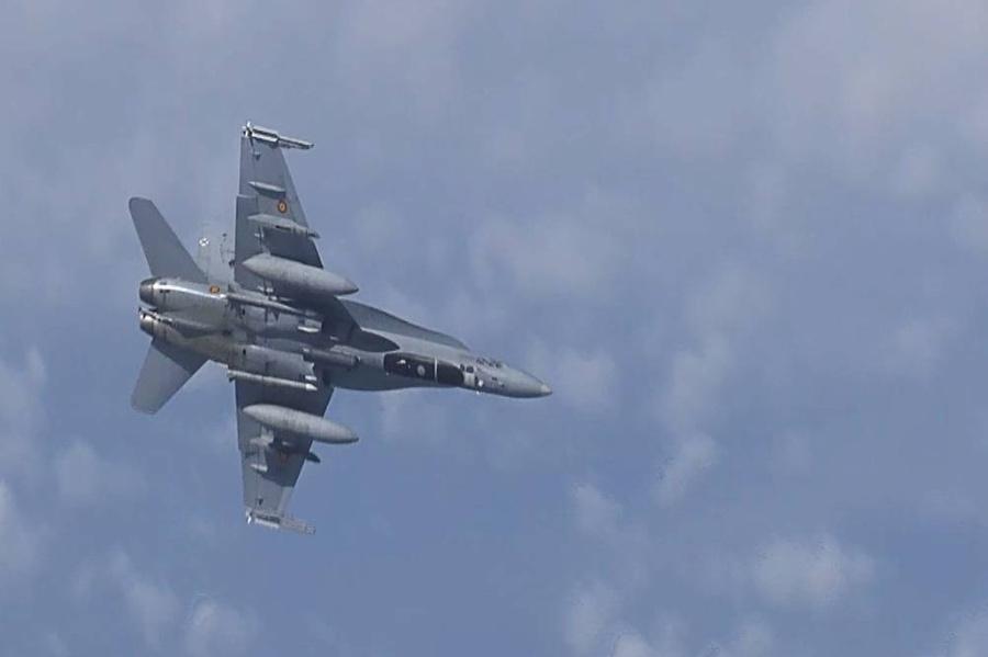 <p>Су-27. Фото © ТАСС / Снимок с видео Минобороны РФ</p>