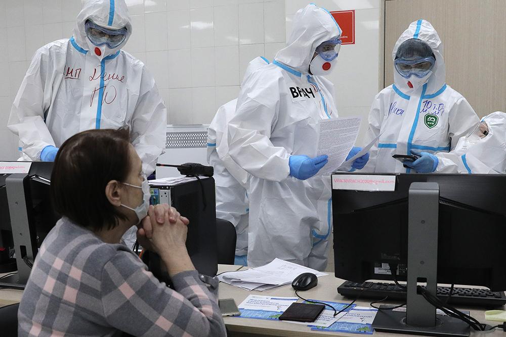 За сутки в России выявили более 12,5 тысячи случаев ковида, это максимум с 22 февраля