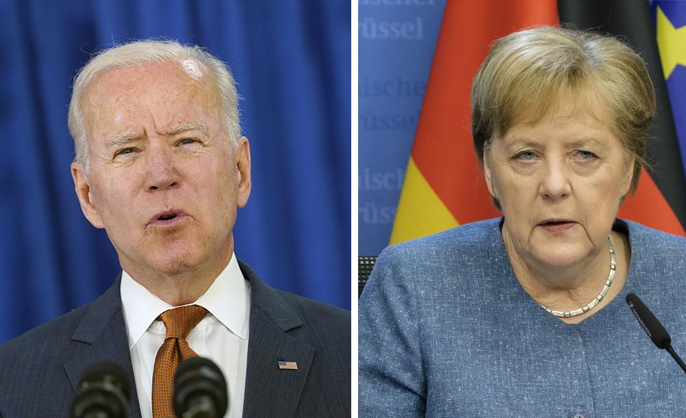 Встреча Байдена и Меркель пройдёт в Вашингтоне 15 июля