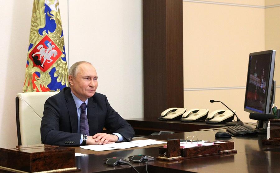 <p>Фото © Пресс-служба Кремля</p>
