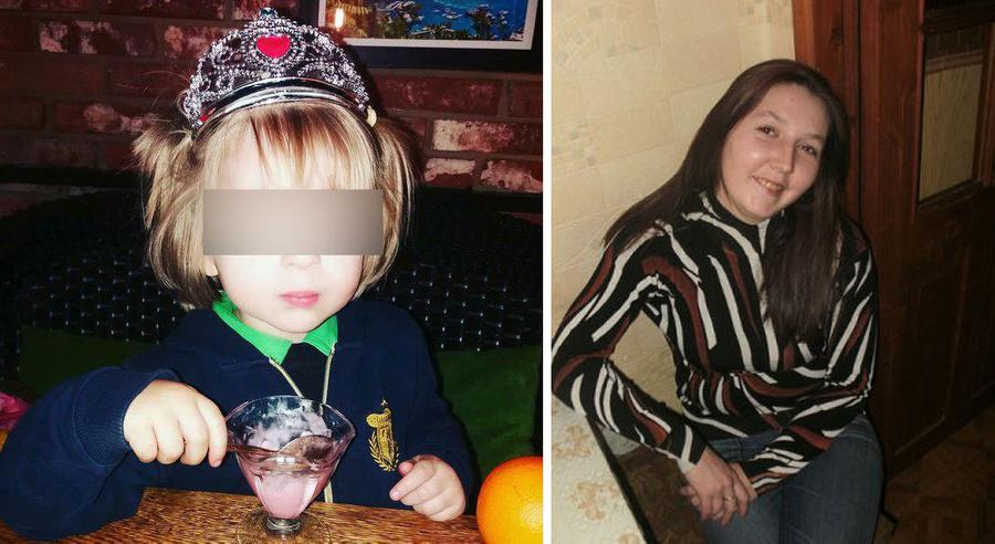 <p>Девочка и её похитительница Альбина Хайрулина. Фото © Соцсети</p>