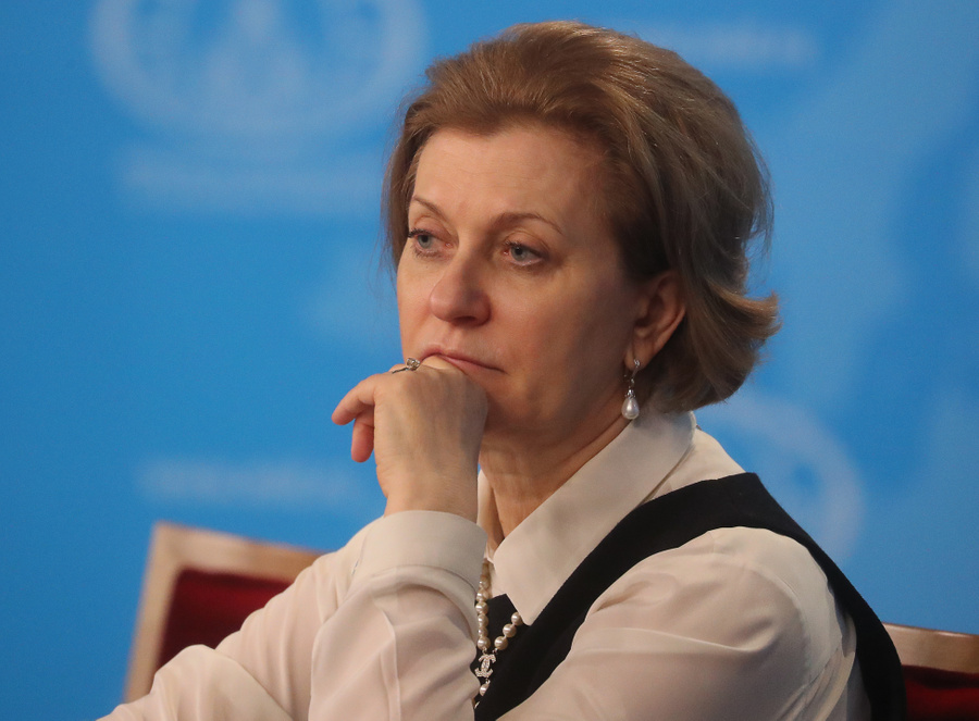 <p>Анна Попова. Фото © TАСС / Сергей Савостьянов</p>