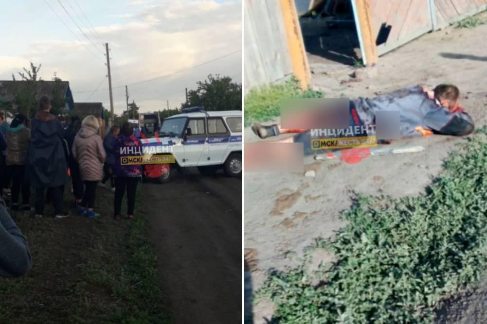 Ранил жену с сыном и убил дочь: Под Омском пьяный многодетный отец устроил жестокую расправу над семьёй