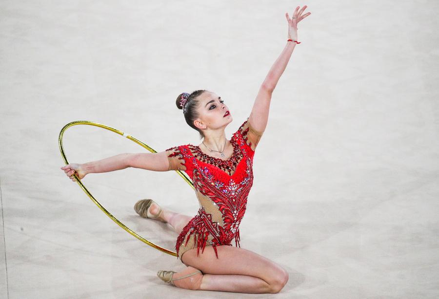 <p>Дина Аверина. Фото © ТАСС / Сергей Бобылев</p>