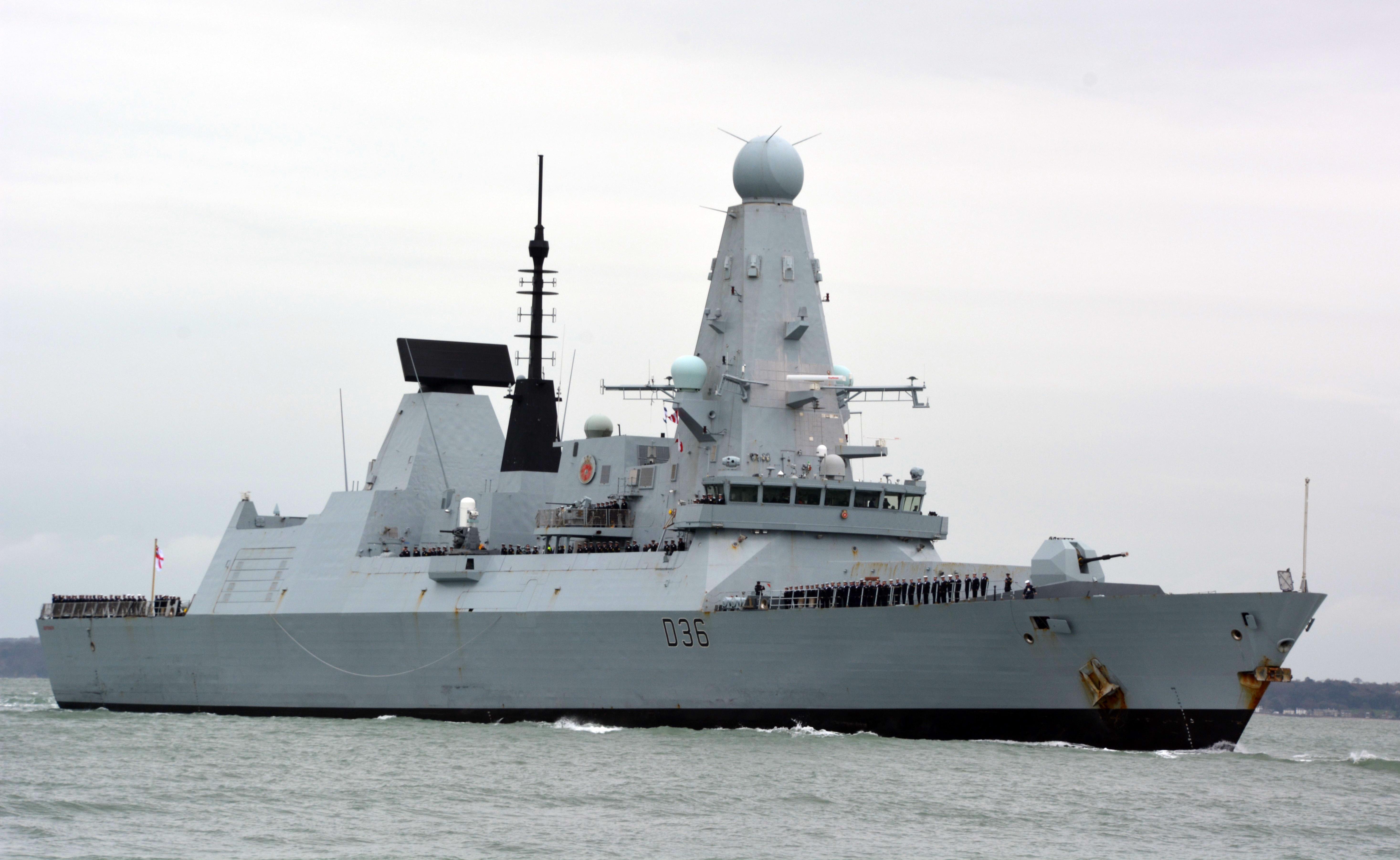 Два боевых корабля НАТО зашли в акваторию Чёрного моря