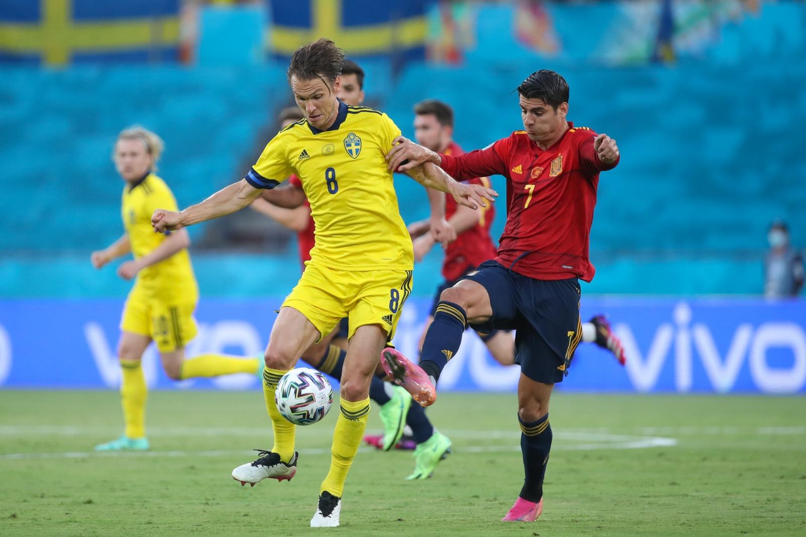 Первые нули: Сборные Испании и Швеции сыграли вничью на Евро-2020