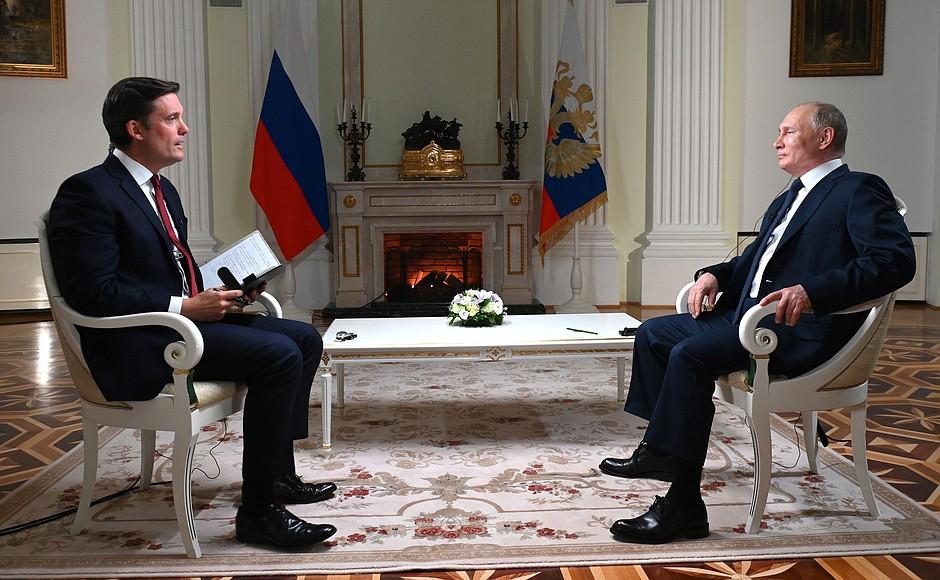 Китайцы пришли в восторг от ответов Путина в интервью телеканалу NBC