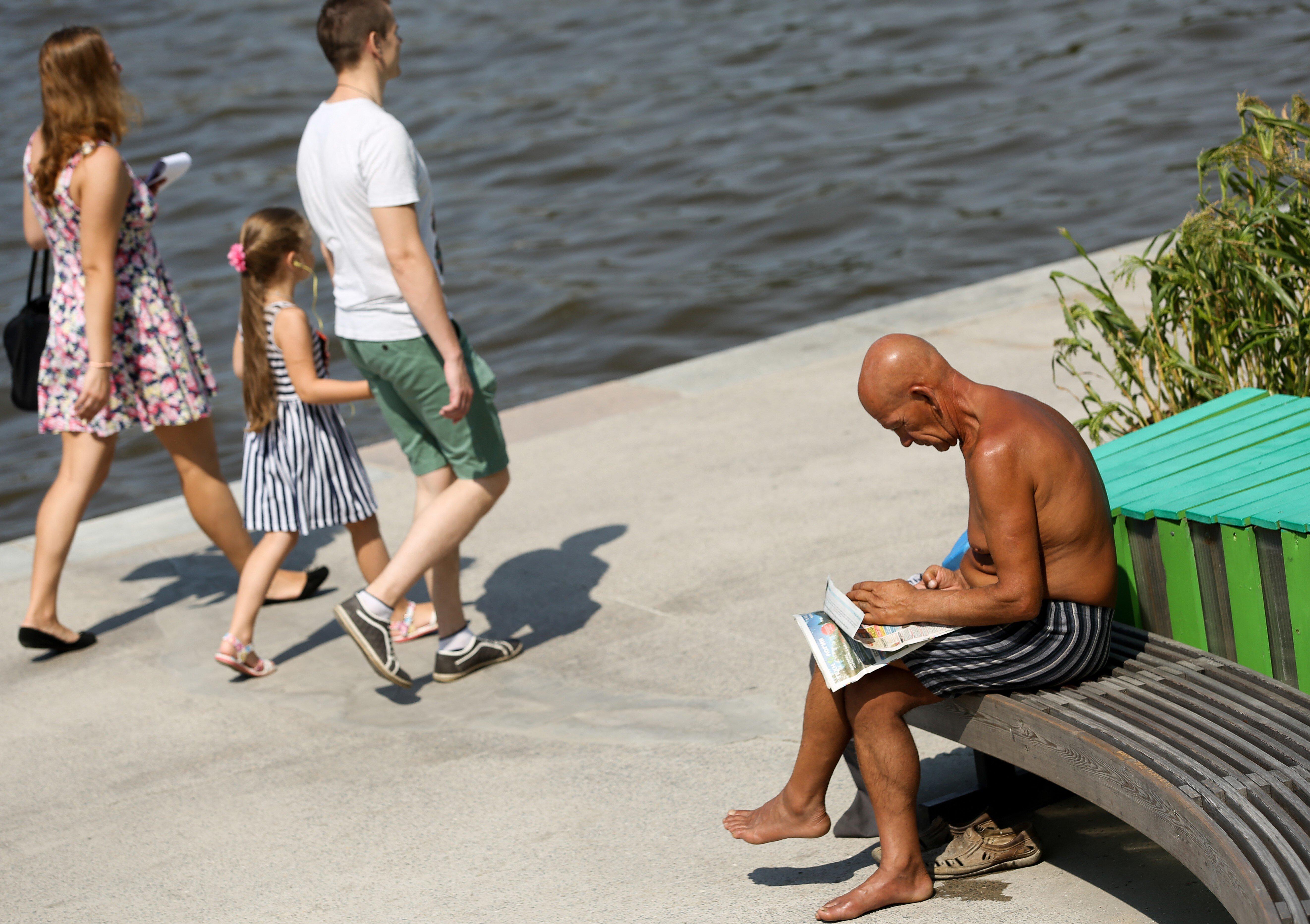 Жителей Центральной России предупредили об аномальной жаре