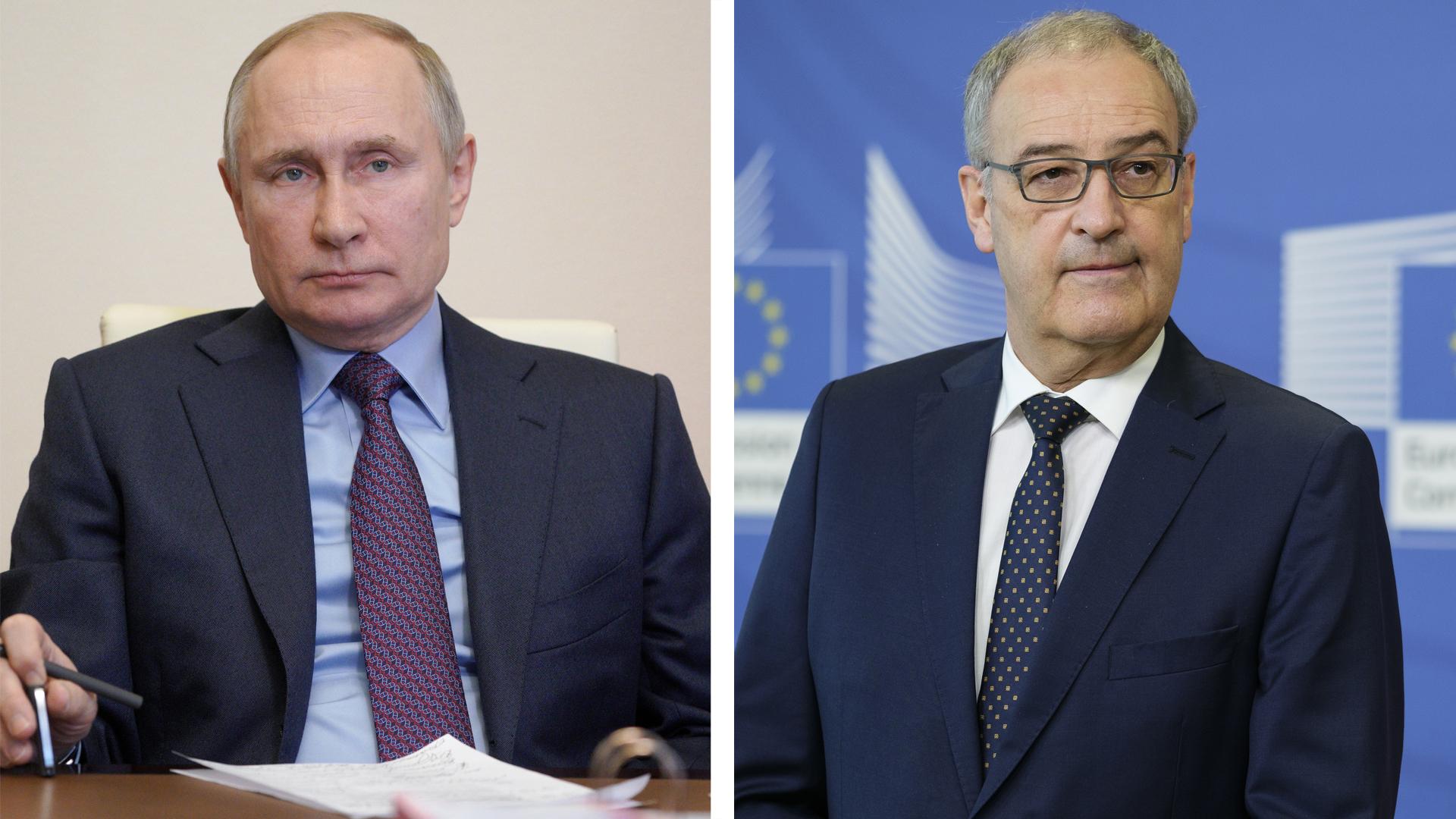 Путин проведёт переговоры с президентом Швейцарии после саммита с Байденом
