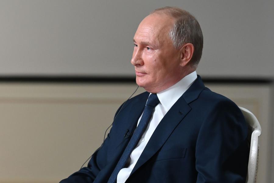 <p>Владимир Путин. Фото © ТАСС / Максим Блинов</p>