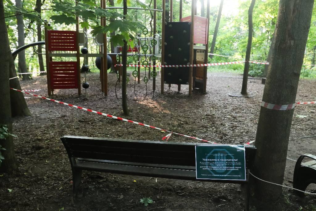 Власти Москвы объяснили, какими детскими площадками можно пользоваться