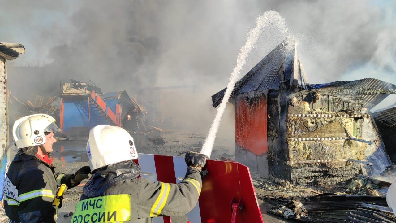 Дело о пожаре на новосибирской АЗС передано в центральный аппарат СК