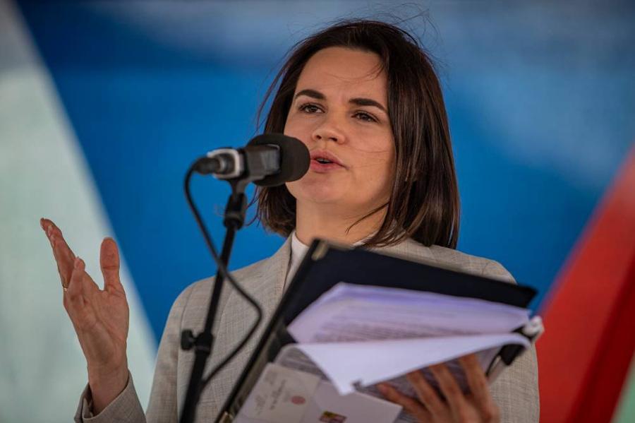 <p>Светлана Тихановская. Фото © ТАСС / ЕРА</p>