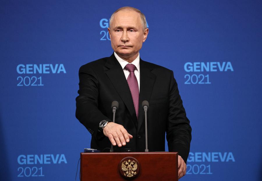 <p>Владимир Путин. Фото © ТАСС / Сергей Бобылев</p>