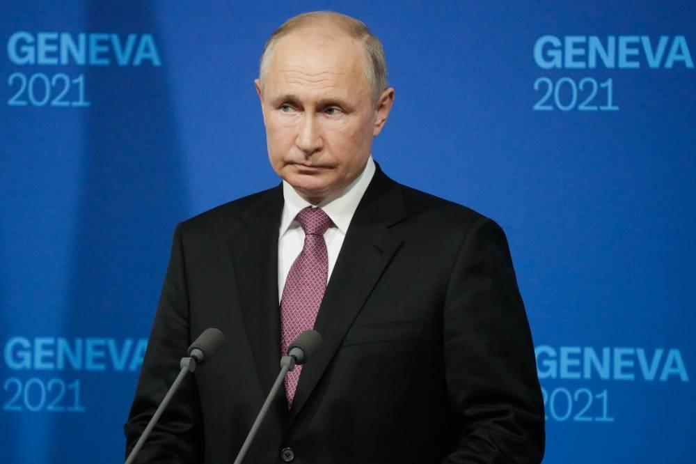 Путин  о суде над ФБК: Организаторы публично звали детей на митинги и учили делать коктейли Молотова