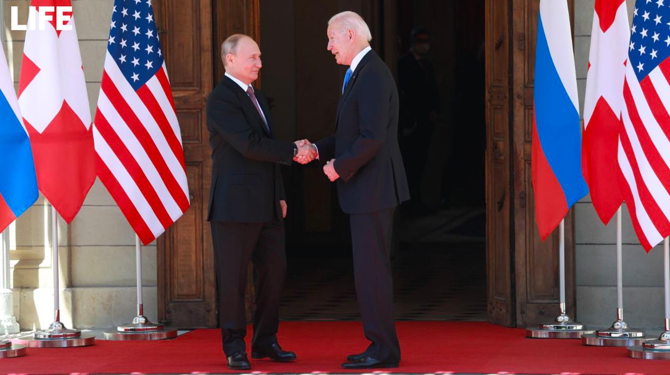 Politico озвучила условия, при которых встреча Путина и Байдена будет считаться успешной