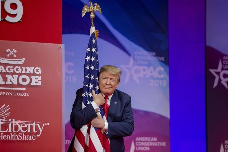 "<p>Экс-президент США Дональд Трамп. Фото © Facebook / <a href=""https://www.facebook.com/DonaldTrump/photos/10164091133755725"" target=""_blank"" rel=""noopener noreferrer"">Donald J. Trump</a></p>"