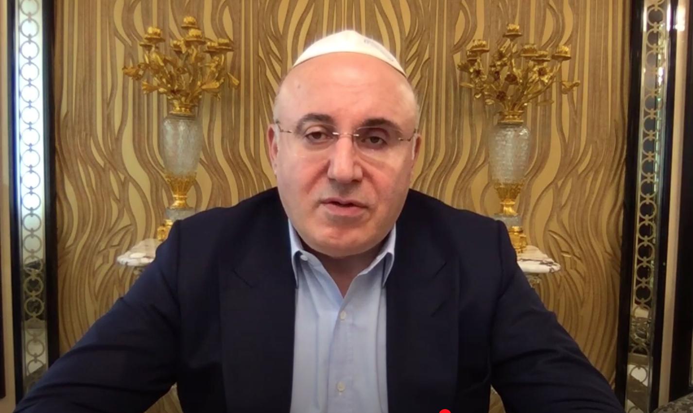 Теймураз Хихинашвили. Кадр из видео YouTube / Russian Jewish Congress