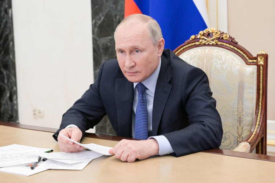 Фото © ТАСС / Алексей Никольский / Пресс-служба Президента РФ