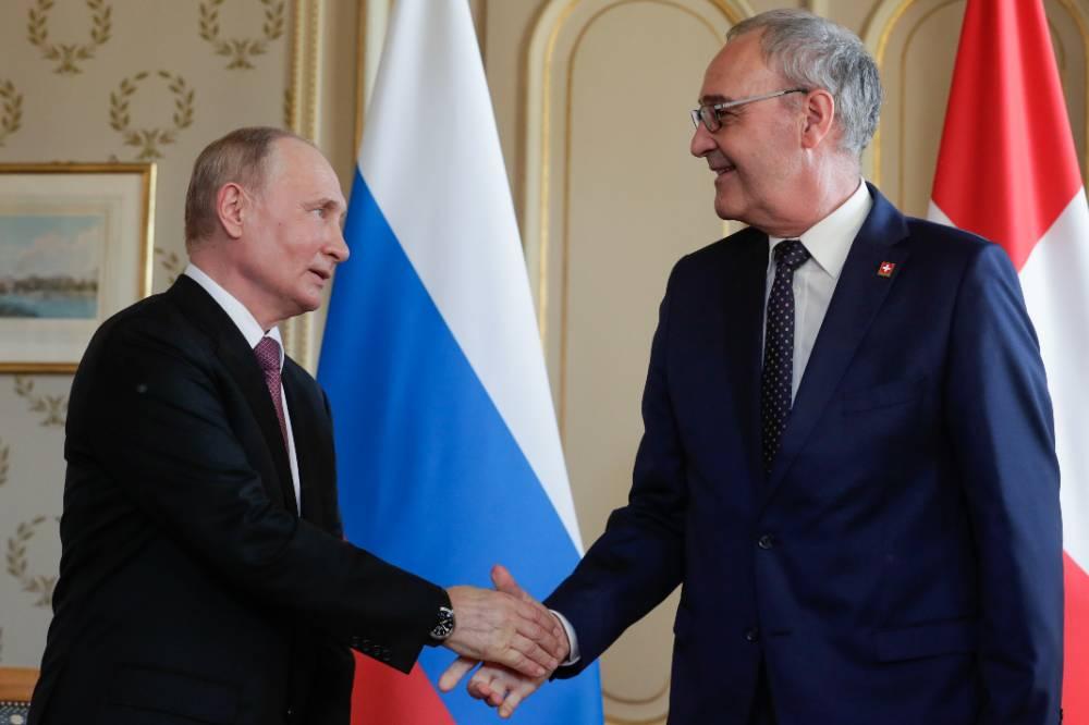 Всегда впечатлял европейских коллег: Политолог оценил высказывание президента Швейцарии в адрес Путина