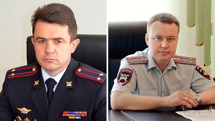 Сергей Моргачев (слева) и Александр Оцимик (справа). Фото © ГУ МВД России по Ростовской области, novodar.ru