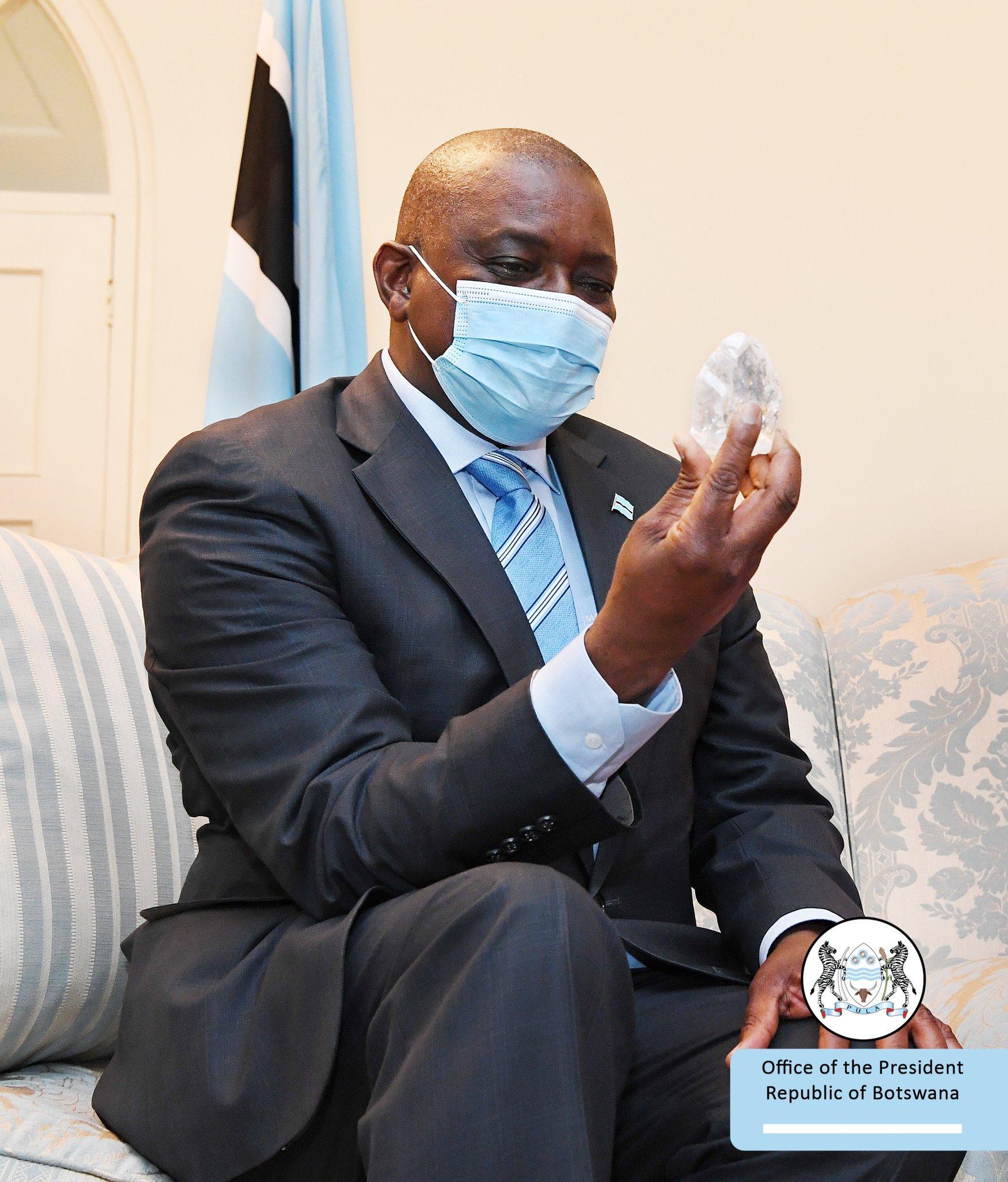 Фото © Twitter / Botswana Government