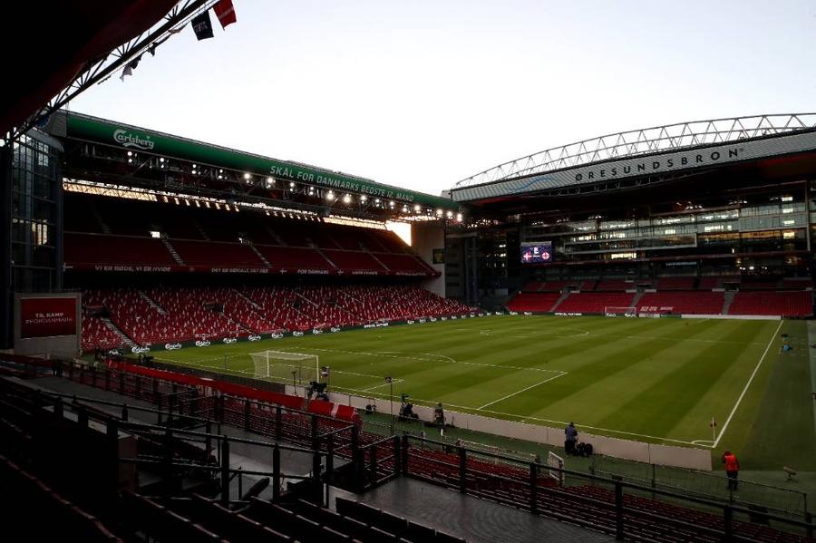"<p>Стадион ""Паркен"" в Копенгагене. Фото © PA / TASS</p>"