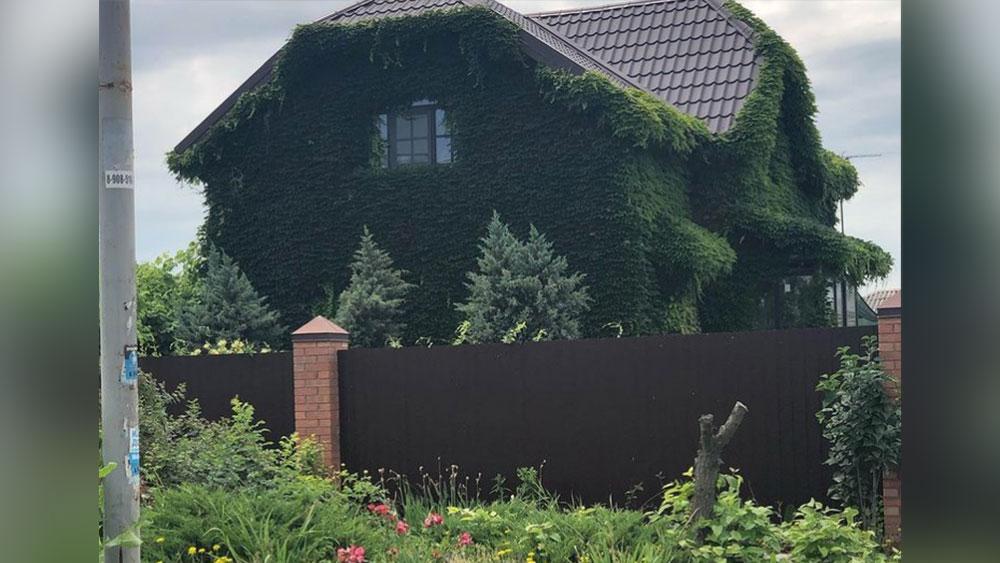 Его дом снаружи. Фото © instagram