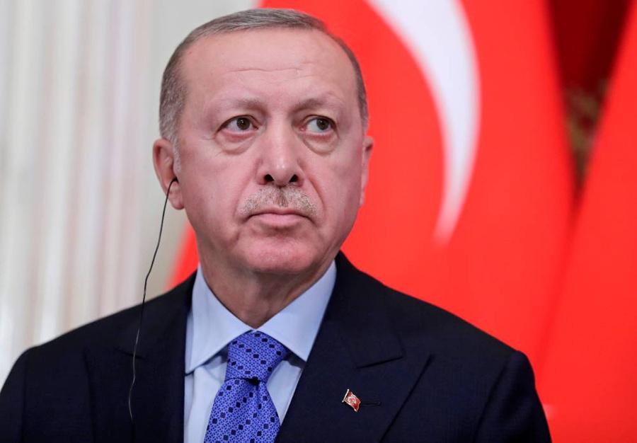 <p>Реджеп Тайип Эрдоган. Фото © ТАСС / Михаил Метцель</p>