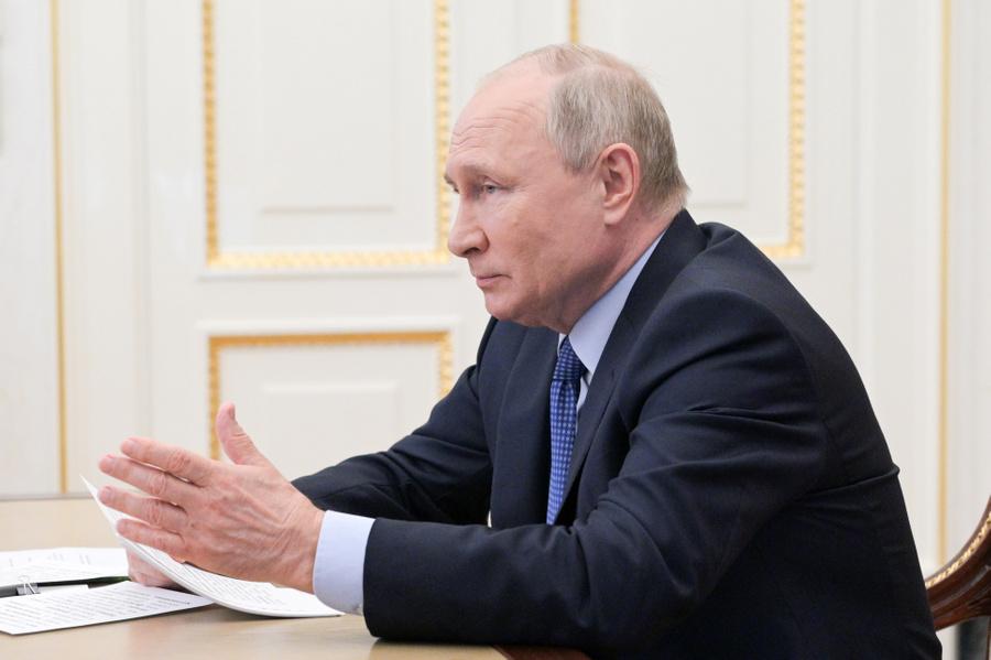 <p>Владимир Путин. Фото © ТАСС / Алексей Никольский</p>